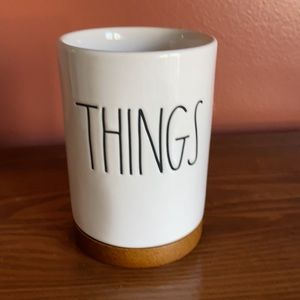adorable Rae Dunn THINGS container